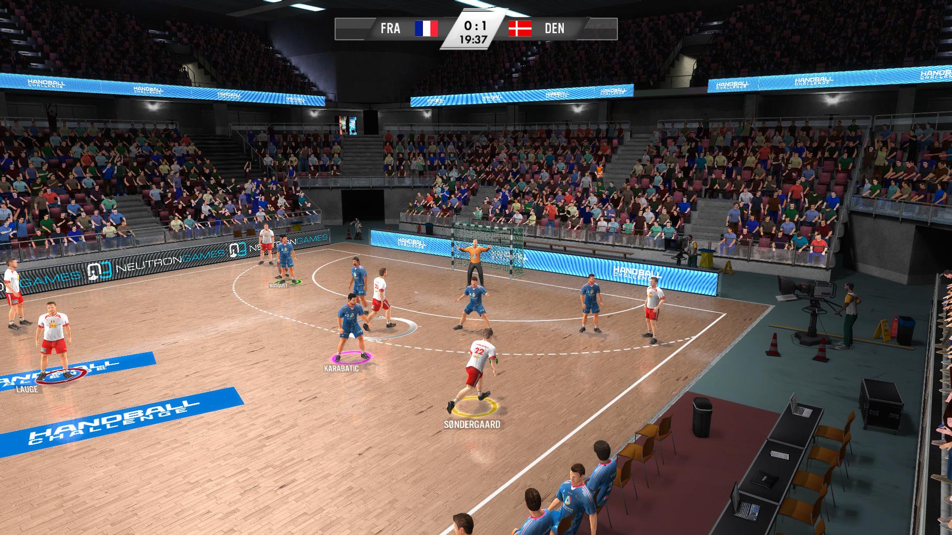 IHF Handball Challenge 14 XBOX 360 ESPAÑOL PROPER (Region PAL) (XGD2) (COMPLEX) 4