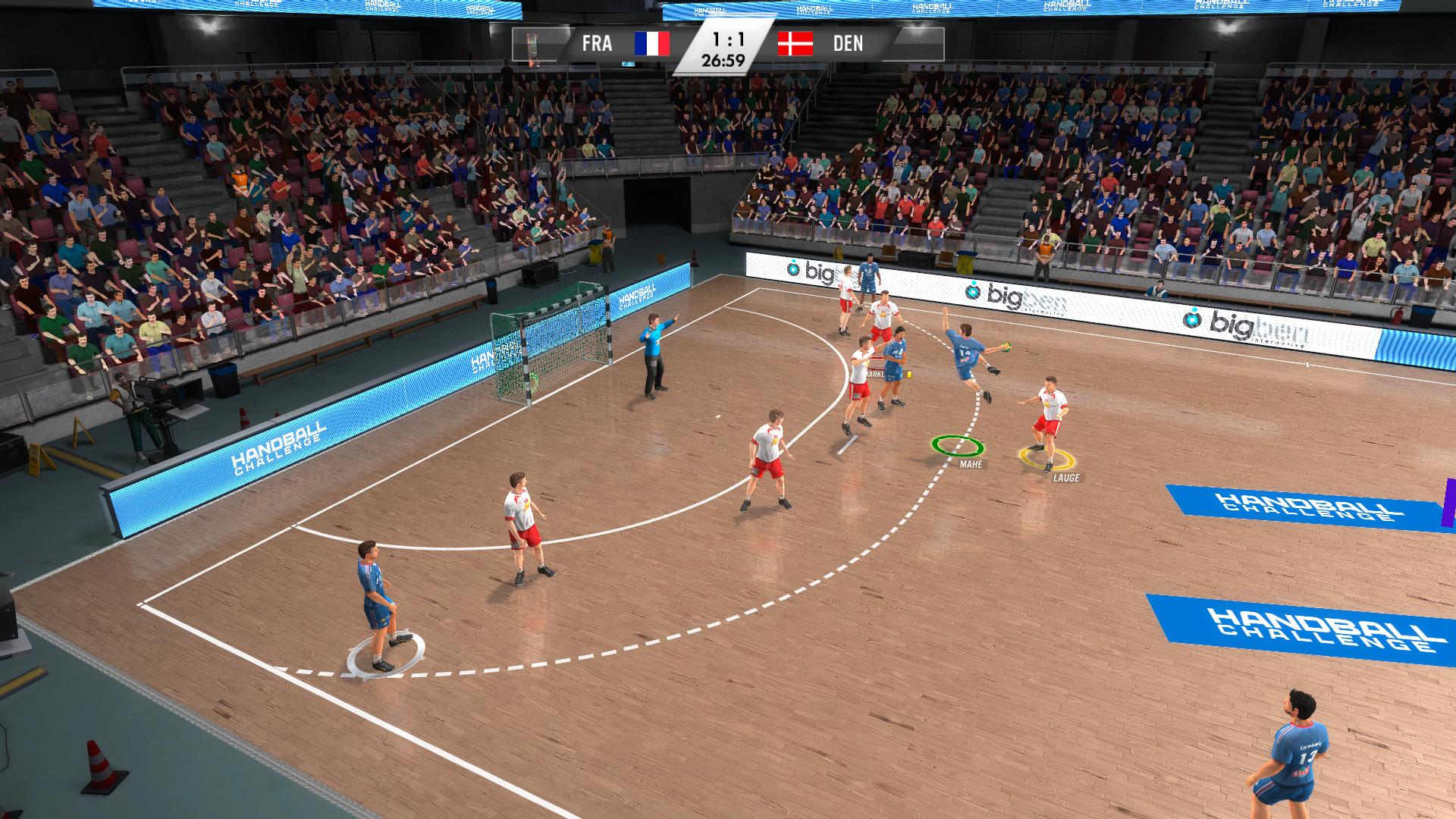 IHF Handball Challenge 14 XBOX 360 ESPAÑOL