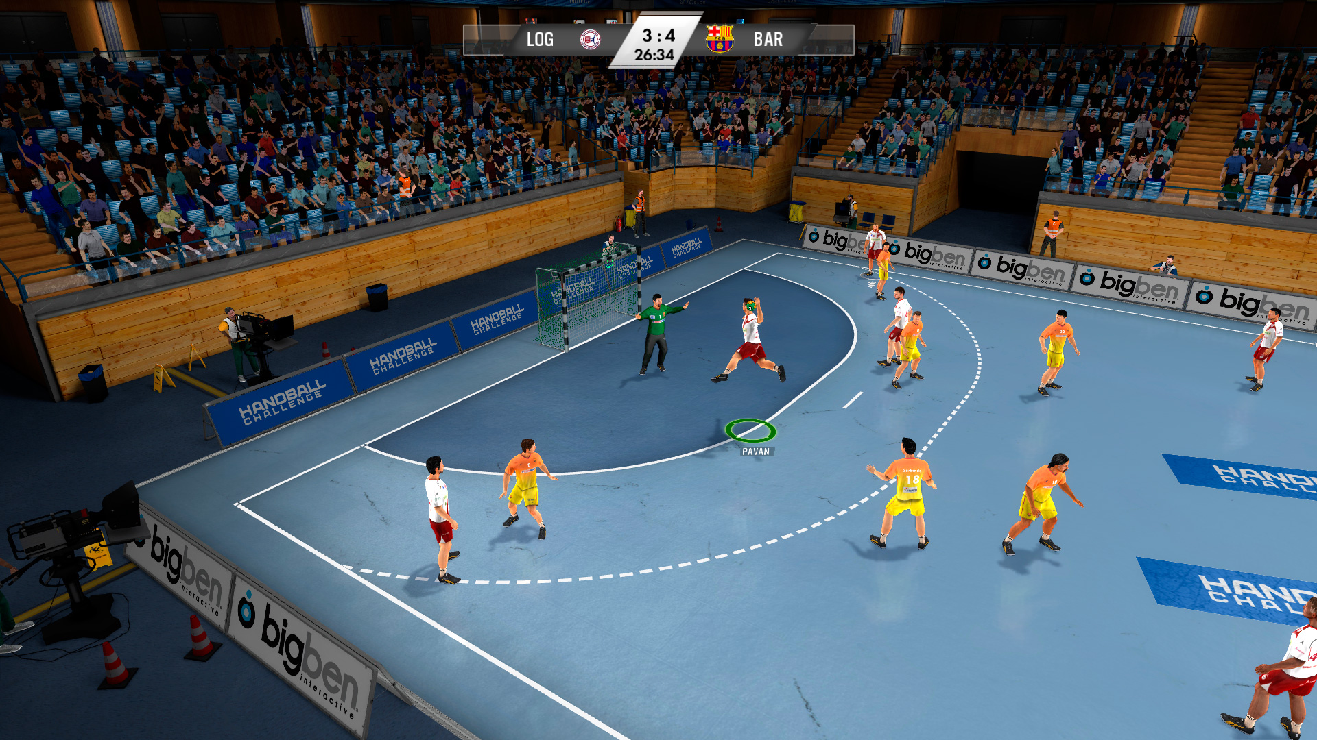 IHF Handball Challenge 14 XBOX 360 ESPAÑOL PROPER (Region PAL) (XGD2) (COMPLEX) 1