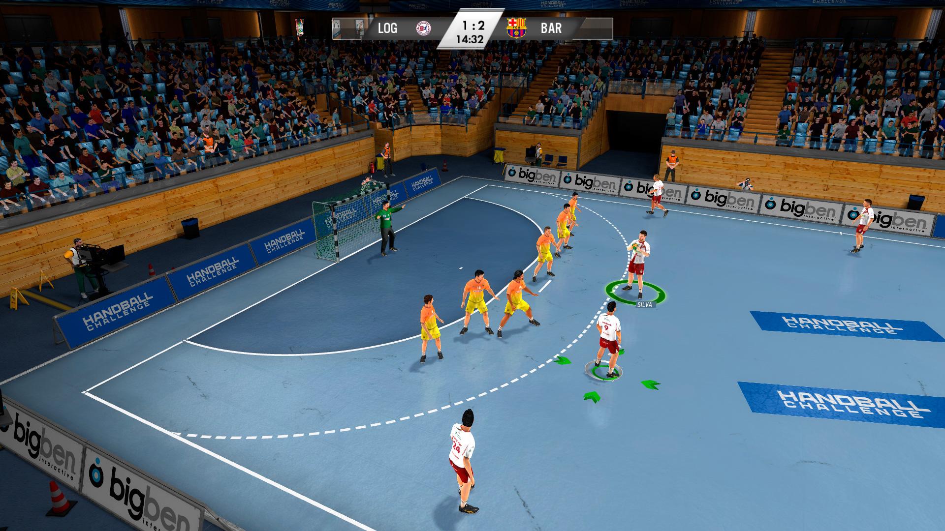 IHF Handball Challenge 14 XBOX 360 ESPAÑOL PROPER (Region PAL) (XGD2) (COMPLEX) 7