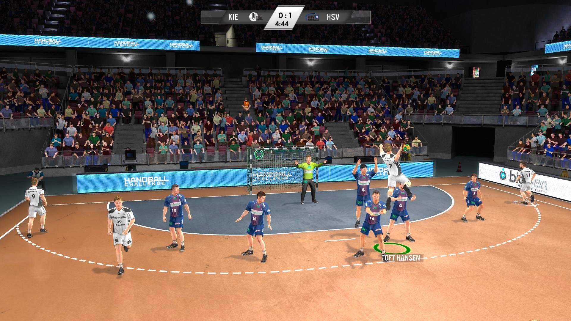 IHF Handball Challenge 14 XBOX 360 ESPAÑOL PROPER (Region PAL) (XGD2) (COMPLEX) 6
