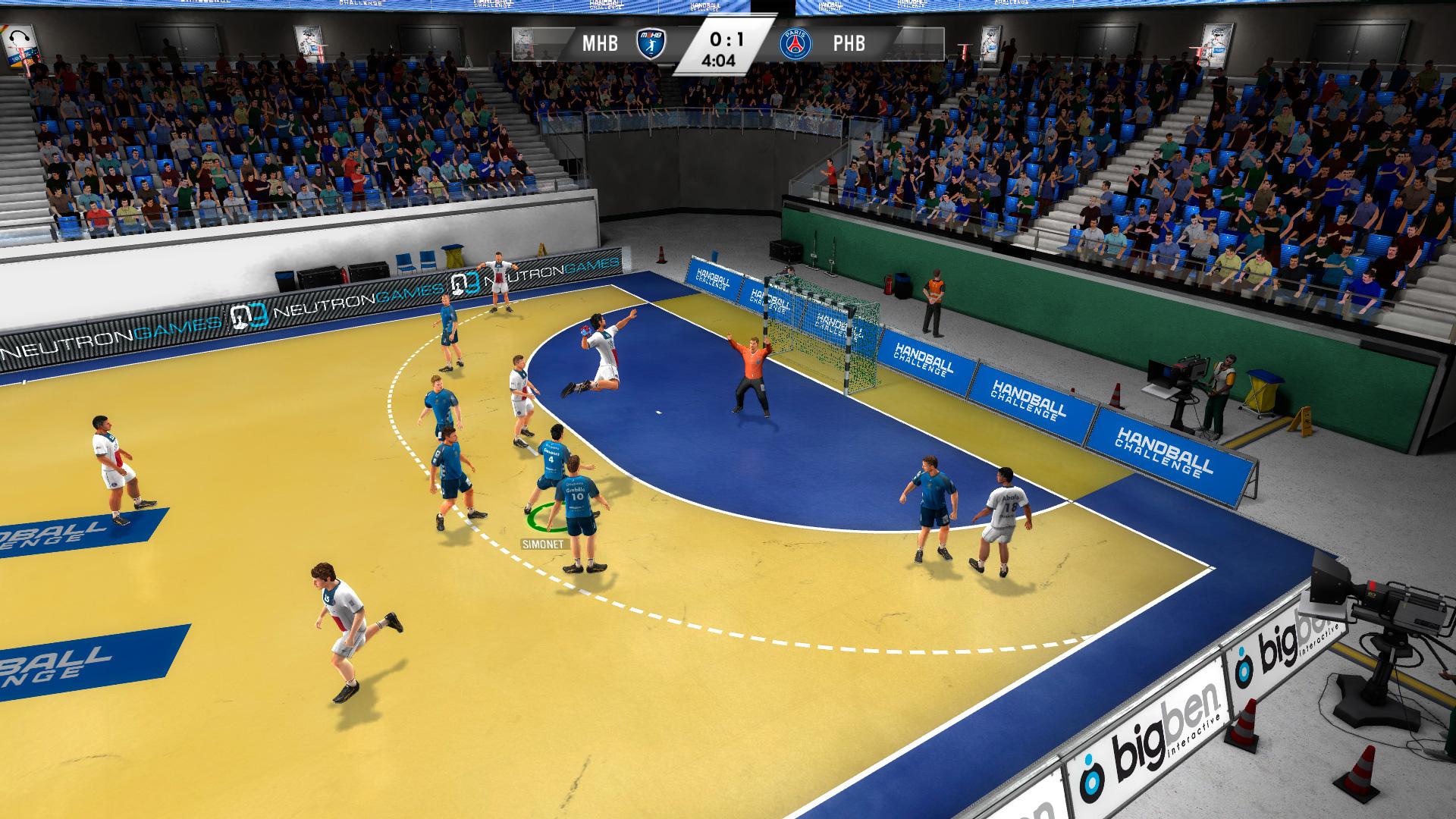 IHF Handball Challenge 14 XBOX 360 ESPAÑOL PROPER (Region PAL) (XGD2) (COMPLEX) 8