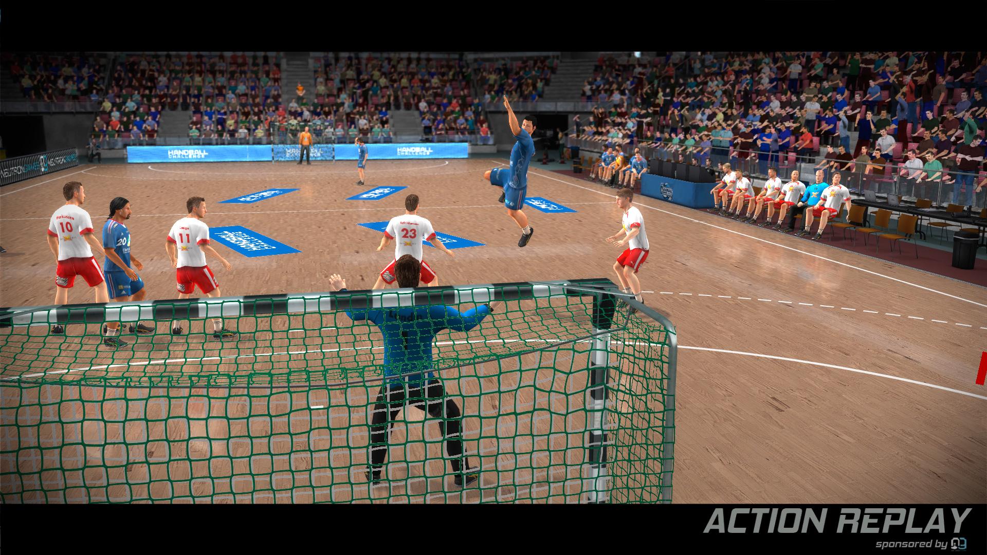 IHF Handball Challenge 14 XBOX 360 ESPAÑOL PROPER (Region PAL) (XGD2) (COMPLEX) 5