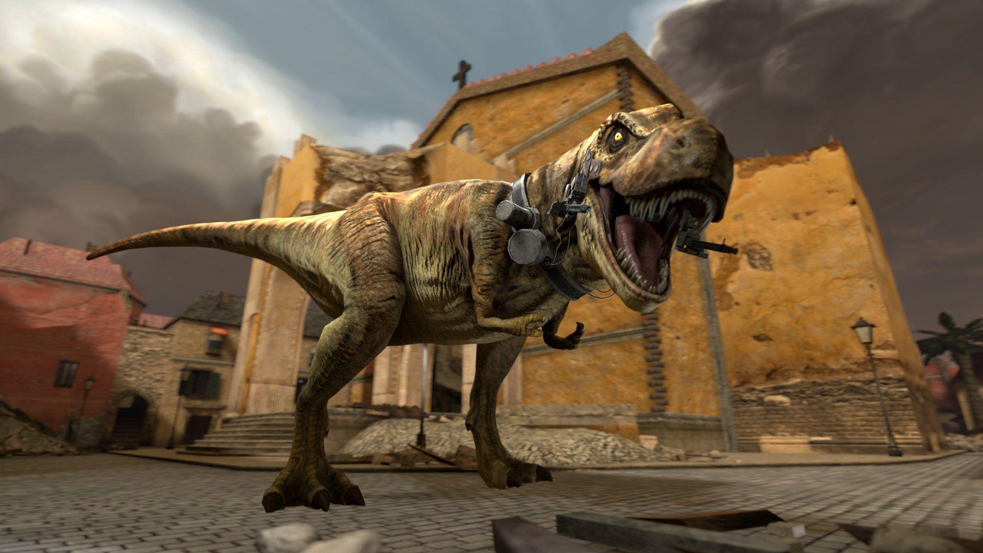 """免费获取 Steam 游戏 Dino D-Day 恐龙降临日丨""""反""""斗限免"""